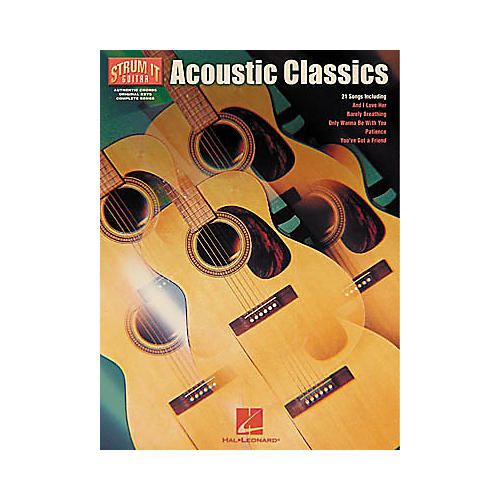 Hal Leonard Acoustic Classics Book-thumbnail