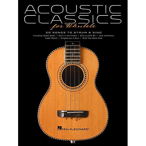 Hal Leonard Acoustic Classics For Ukulele-thumbnail