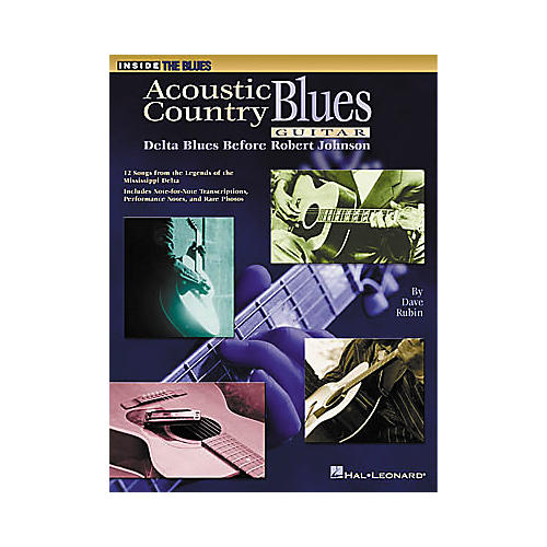 Hal Leonard Acoustic Country Blues Guitar Book