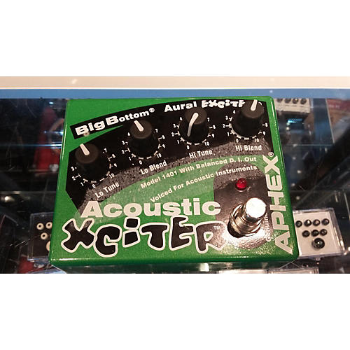 used aphex acoustic exciter pedal guitar center. Black Bedroom Furniture Sets. Home Design Ideas