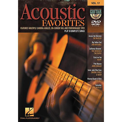 Hal Leonard Acoustic Favorites - Guitar Play-Along DVD Volume 17-thumbnail