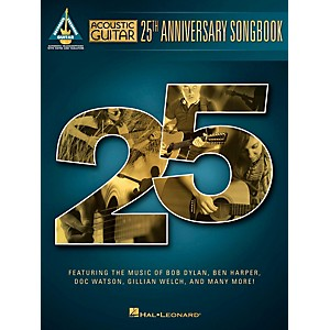 Hal Leonard Acoustic Guitar 25th Anniversary Songbook by Hal Leonard