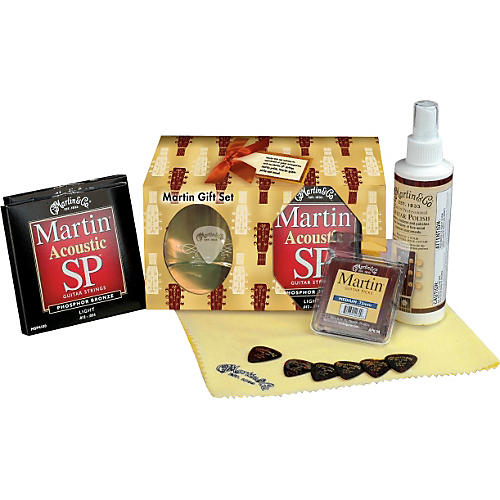 Martin Acoustic Guitar Accessories Gift Set
