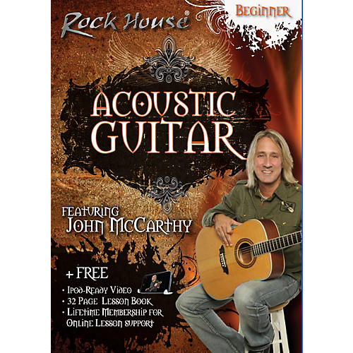 Rock House Acoustic Guitar Beginner DVD-thumbnail