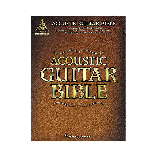 Hal Leonard Acoustic Guitar Bible Tab Songbook-thumbnail
