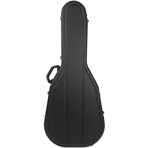 Hiscox Cases Acoustic Guitar Case/Dreadnght Black Shell/Silver Int-Pro II
