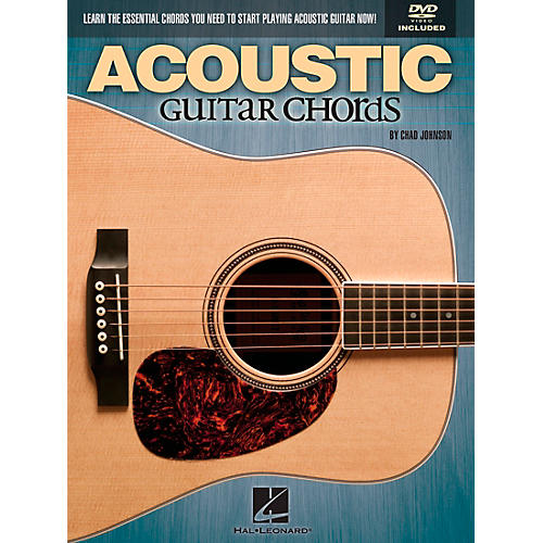 Hal Leonard Acoustic Guitar Chords Learn the Essential You Need Book & DVD-thumbnail
