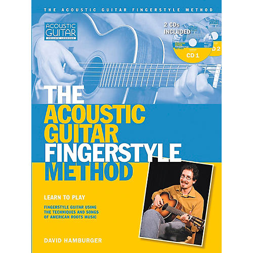 Hal Leonard Acoustic Guitar Fingerstyle Method (Book/Online Audio)-thumbnail