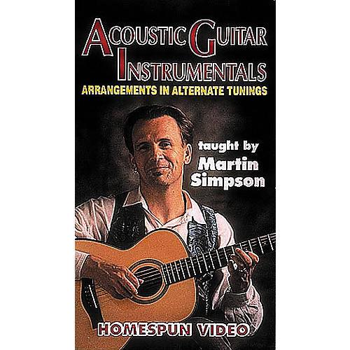 Homespun Acoustic Guitar Instrumentals 1 (VHS)