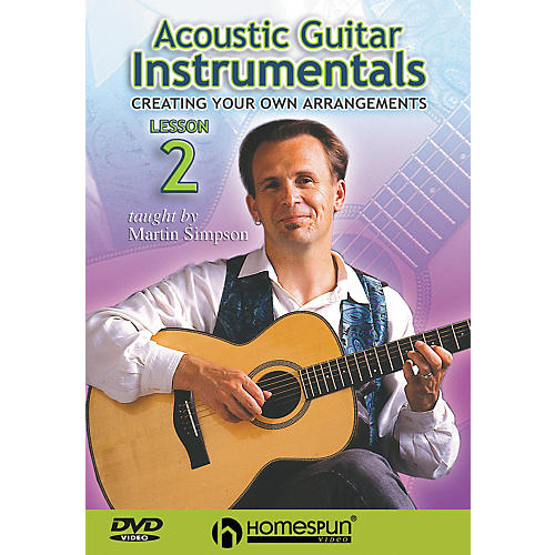 Homespun Acoustic Guitar Instrumentals DVD Two: Creating Your Own Arrangements-thumbnail