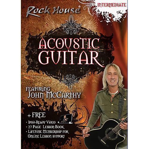 Hal Leonard Acoustic Guitar Intermediate DVD
