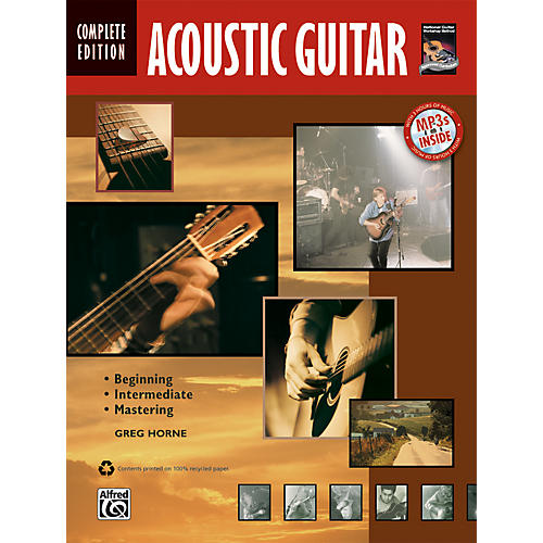 Alfred Acoustic Guitar Method Complete (Book/CD)-thumbnail