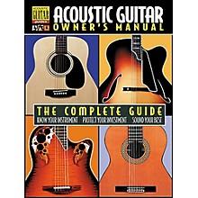 Hal Leonard Acoustic Guitar Owner's Manual Book