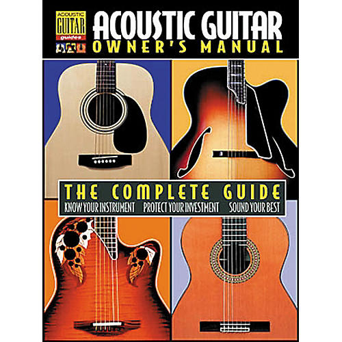 Hal Leonard Acoustic Guitar Owner's Manual Book-thumbnail