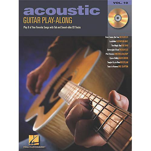 Hal Leonard Acoustic Guitar Play-Along Series Book with CD-thumbnail