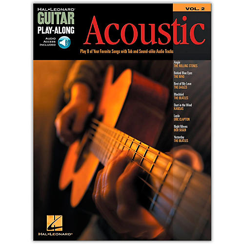 Hal Leonard Acoustic Guitar Play-Along Series Volume 2 (Book/Online Audio)-thumbnail