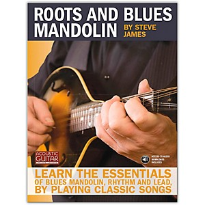Hal Leonard Acoustic Guitar Series Roots and Blues Mandolin Book/Online Au... by Hal Leonard