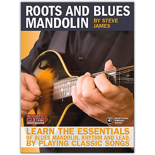 Hal Leonard Acoustic Guitar Series Roots And Blues Mandolin (Book/Online Audio)-thumbnail