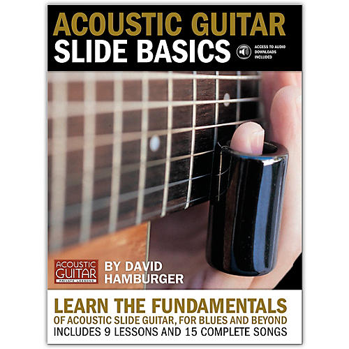 String Letter Publishing Acoustic Guitar Slide Basics (Book/Online Audio)-thumbnail