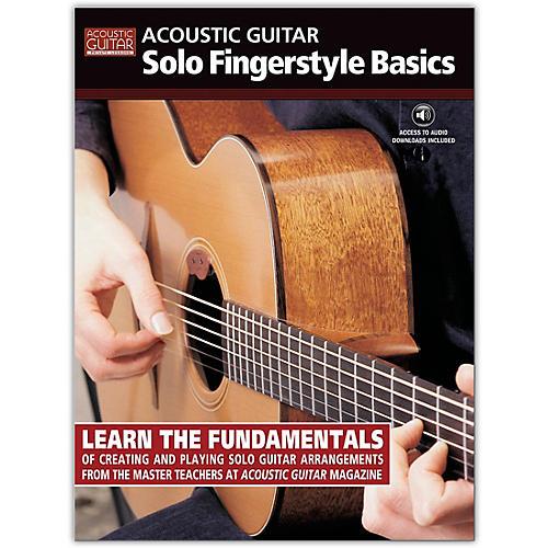 String Letter Publishing Acoustic Guitar Solo Fingerstyle Basics (Book/Online Audio)-thumbnail