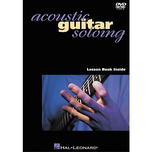 Hal Leonard Acoustic Guitar Soloing DVD with Jamie Findlay