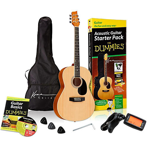 For Dummies Acoustic Guitar Starter Package-thumbnail
