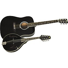 Acoustic Guitar and Mandolin Pack Black Black