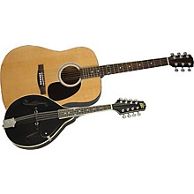 Acoustic Guitar and Mandolin Pack Natural Black