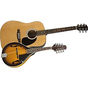 Rogue Acoustic Guitar and Mandolin Pack by Rogue