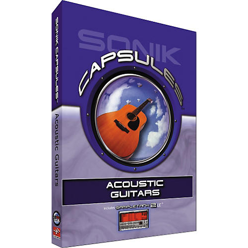 Sonik Capsules Acoustic Guitars Capsule-thumbnail