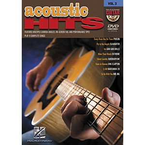 Hal Leonard Acoustic Hits Guitar Play-Along DVD Volume 3 by Hal Leonard