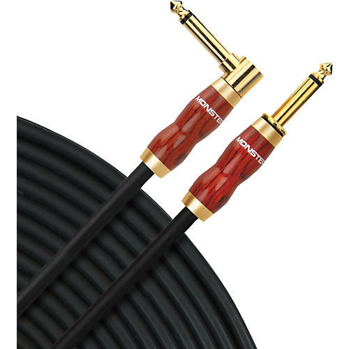 Monster Cable Acoustic Instrument Cable Angle-Straight (No-Frills Packaging)-thumbnail