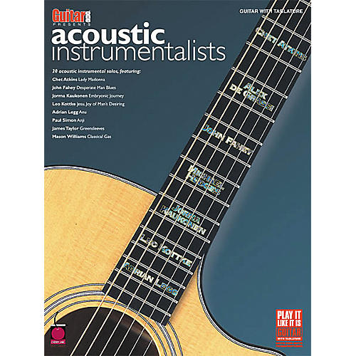 Cherry Lane Acoustic Instrumentalists Book)-thumbnail