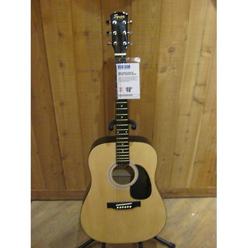 Squier Acoustic Natural Acoustic Guitar