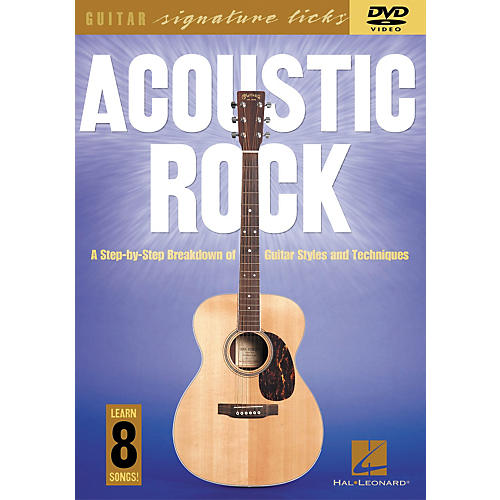 Hal Leonard Acoustic Rock - A Step by Step Breakdown of Guitar Styles and Techniques (Book/CD)-thumbnail