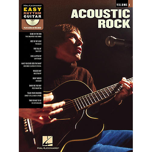 Hal Leonard Acoustic Rock - Easy Rhythm Guitar Series Volume 4 Book and CD