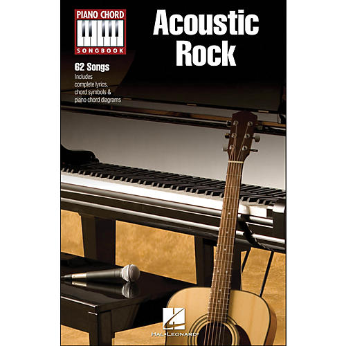 Hal Leonard Acoustic Rock - Piano Chord Songbook