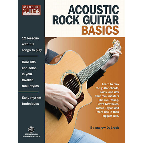 Hal Leonard Acoustic Rock Guitar Basics