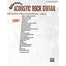 Alfred Acoustic Rock Guitar (Value Songbooks Series) Easy Guitar Series Softcover Performed by Various