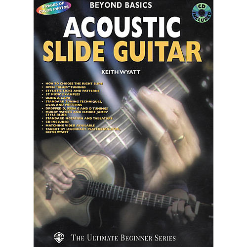 Alfred Acoustic Slide Guitar Book/CD-thumbnail