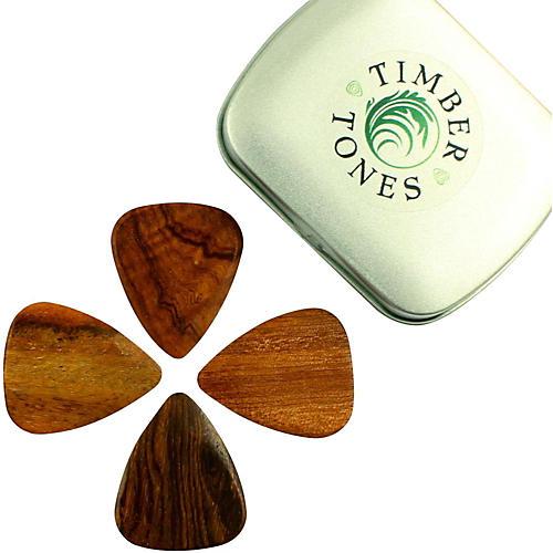 Timber Tones Acoustic Tin of 4 Guitar Picks-thumbnail