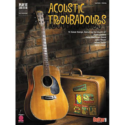Cherry Lane Acoustic Troubadours Book-thumbnail