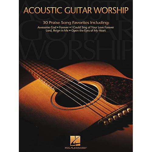 Hal Leonard Acoustic Worship Guitar Songbook