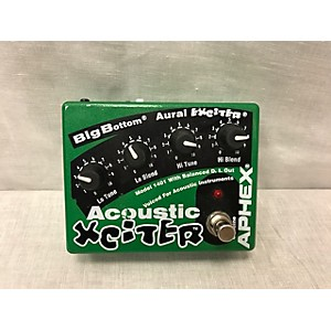 Pre-owned Aphex Acoustic Xciter Pedal by Aphex