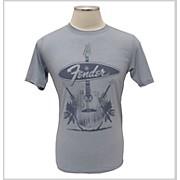 Fender Acoustics T-Shirt Denim