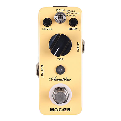 Mooer Acoustikar Acoustic Guitar Simulator Effects Pedal