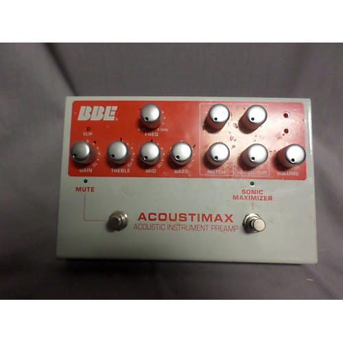 BBE Acoustimax Preamp Pedal
