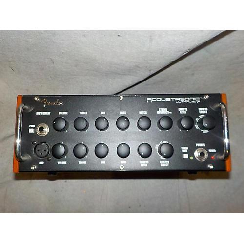 Fender Acoustisonic Head Solid State Guitar Amp Head