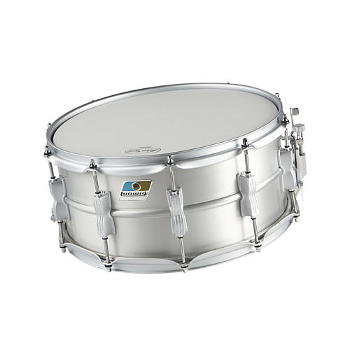 Ludwig Acrolite Limited Edition Aluminum Snare Drum Matte Finish 6.5x14