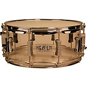 Pork Pie Acrylic Snare Drum with Chrome Hardware